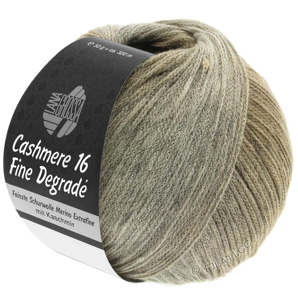 Lana Grossa CASHMERE 16 FINE Uni/Degradé | 107-grège/beige/kamel