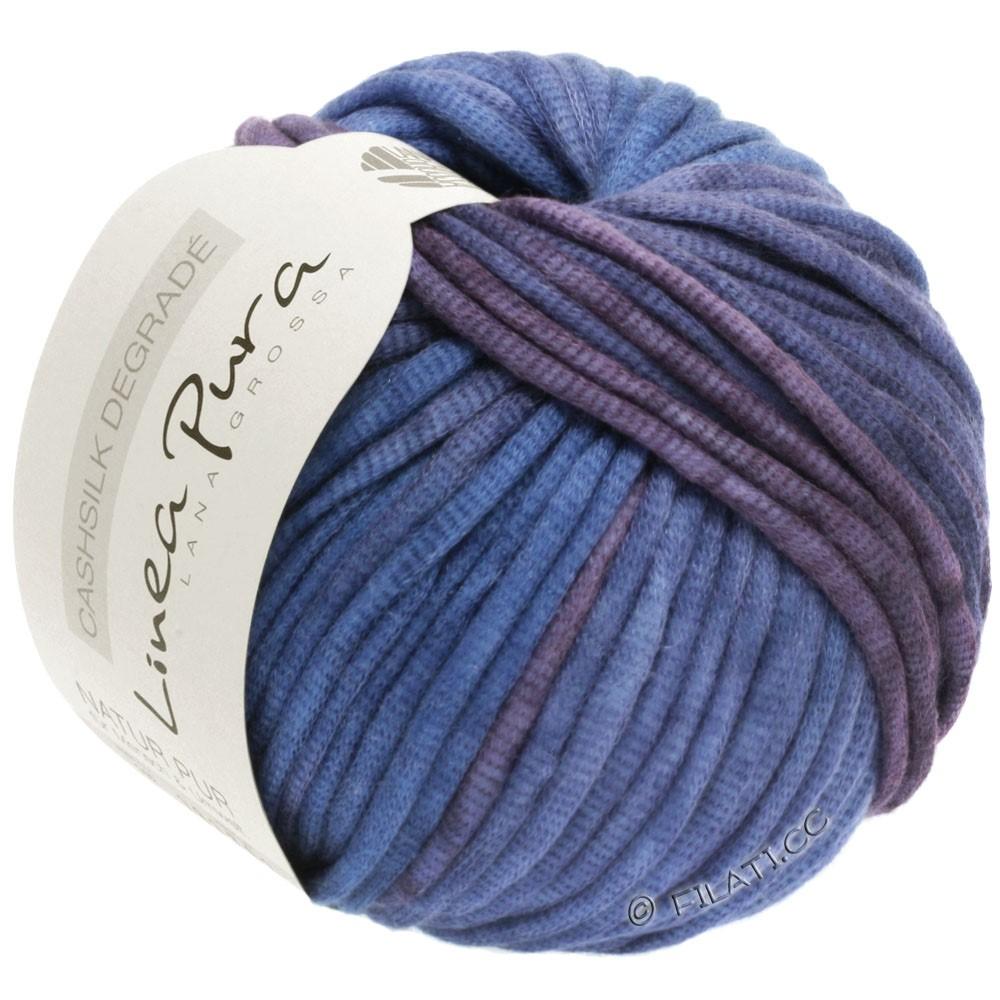 Lana Grossa CASHSILK Degradé (Linea Pura) | 101-blomme/violetblå/lavendel