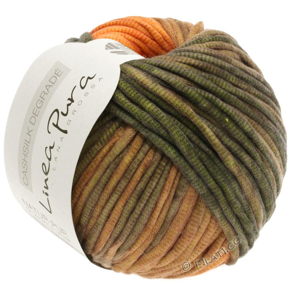 Lana Grossa CASHSILK Degradé (Linea Pura) | 103-orange/kanel/kaki