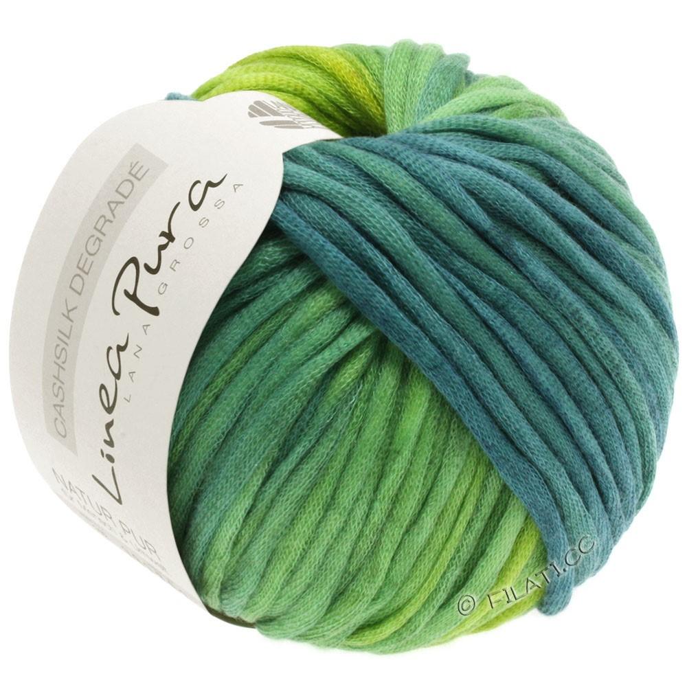 Lana Grossa CASHSILK Degradé (Linea Pura) | 106-gulgrøn/mintturkis/petrol