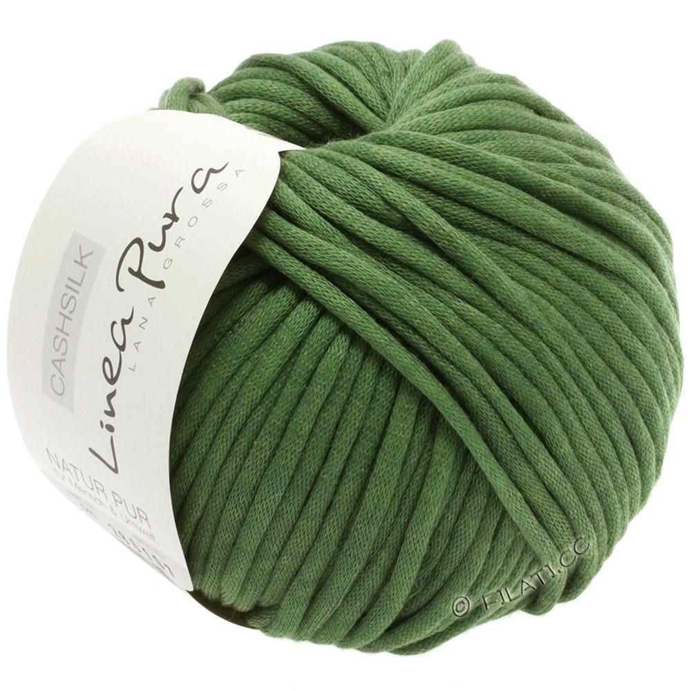Lana Grossa CASHSILK (Linea Pura) | 45-mosgrøn