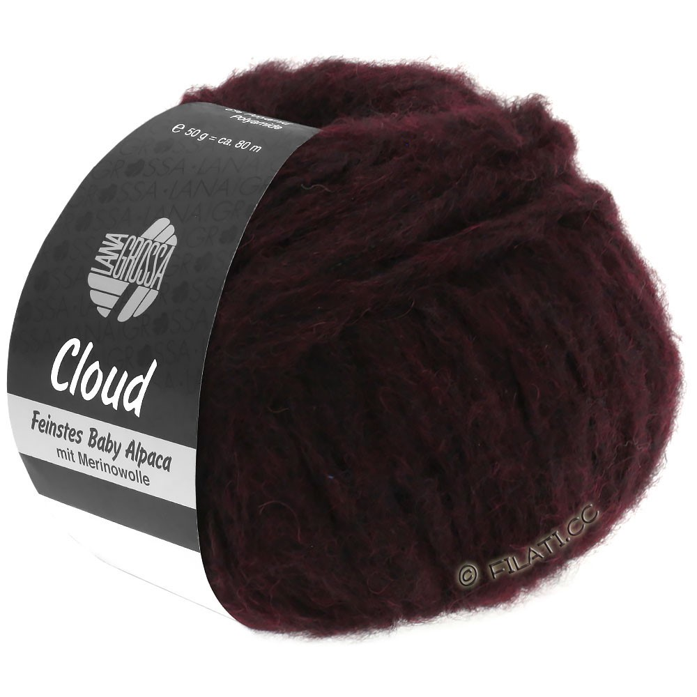 Lana Grossa CLOUD | 18-sortrød