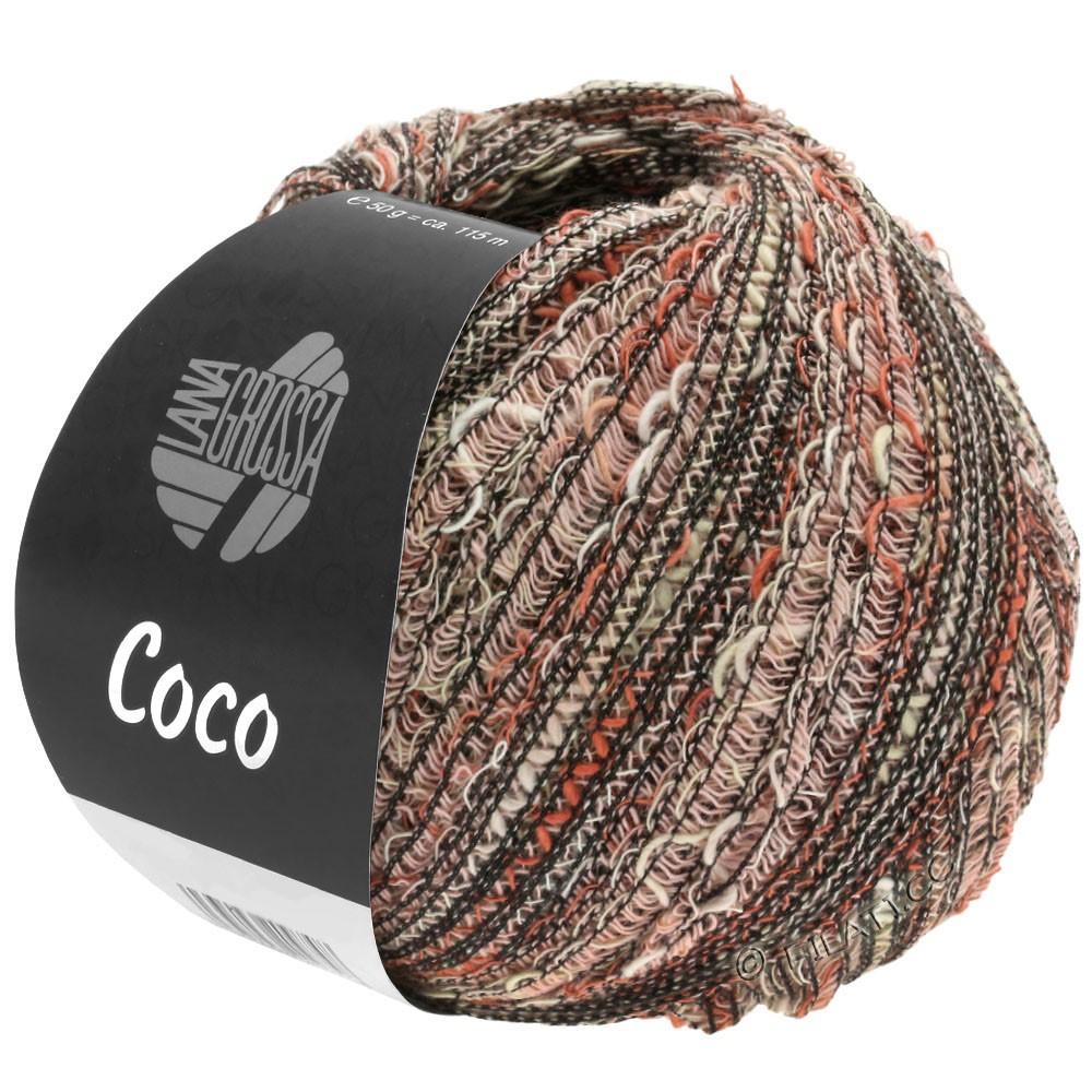 Lana Grossa COCO | 13-natur/terrakotta/rosa