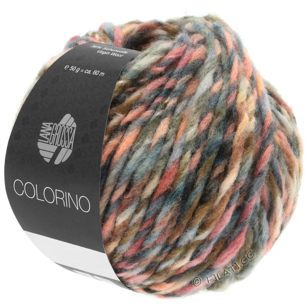 Lana Grossa COLORINO | 04-rødpurpur/rosa/burgund/grå