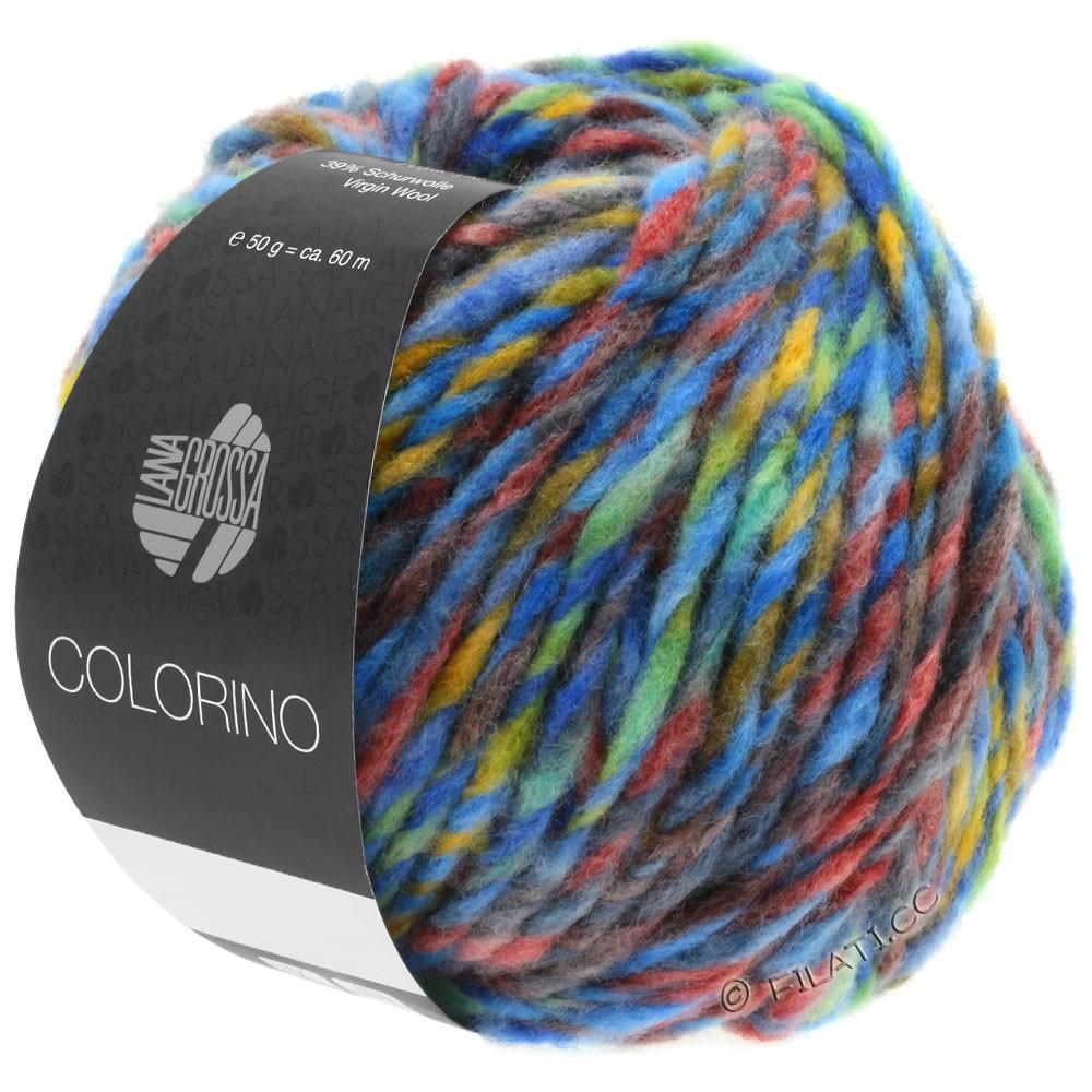 Lana Grossa COLORINO | 07-blå/grøn/terrakotta/turkis/antracit