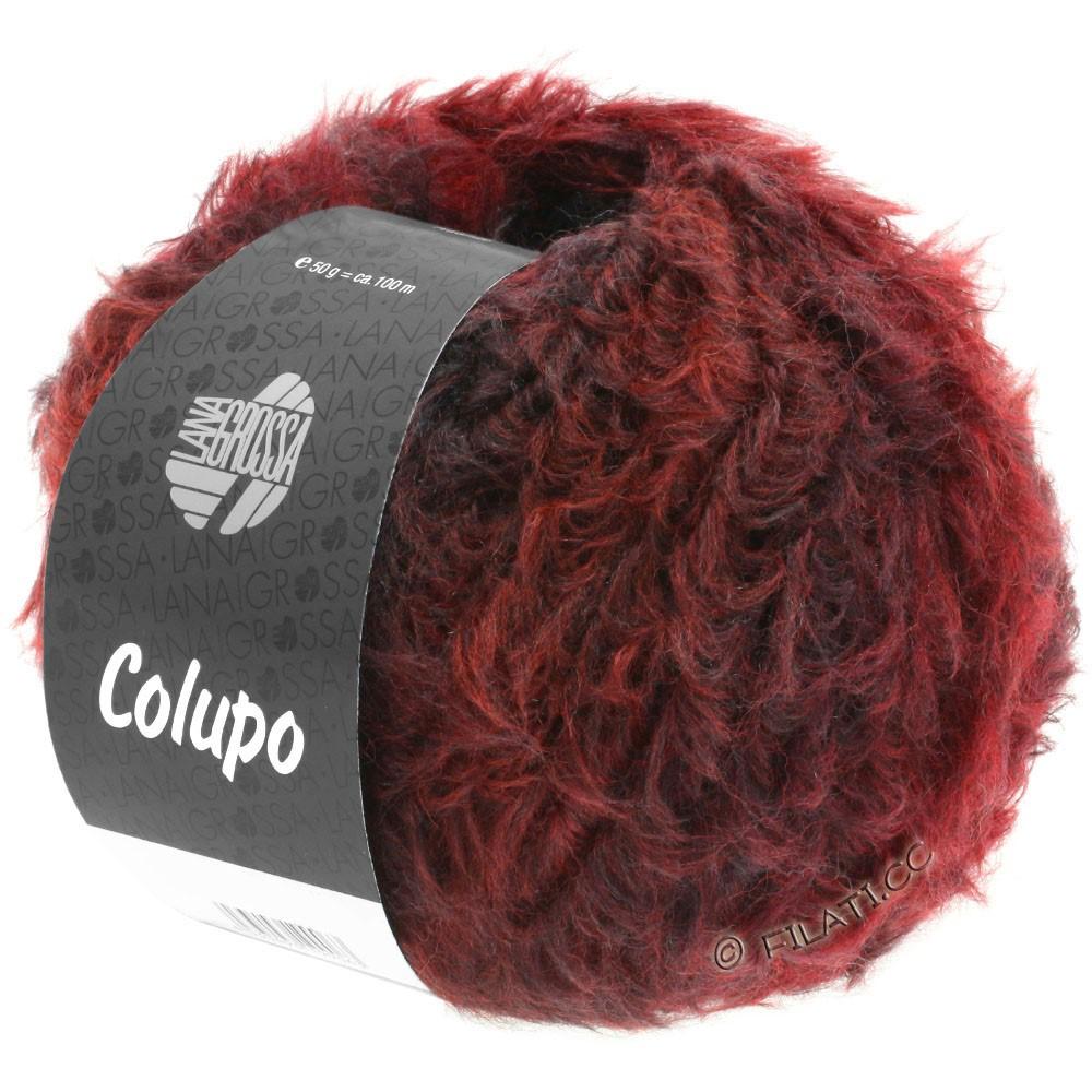 Lana Grossa COLUPO | 01-rødbrun/vinrød