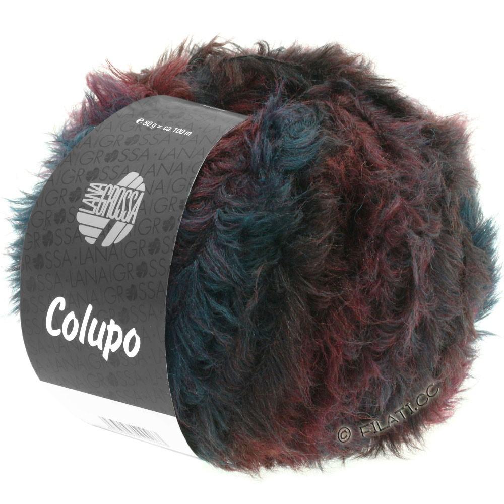 Lana Grossa COLUPO | 02-burgund/antracit
