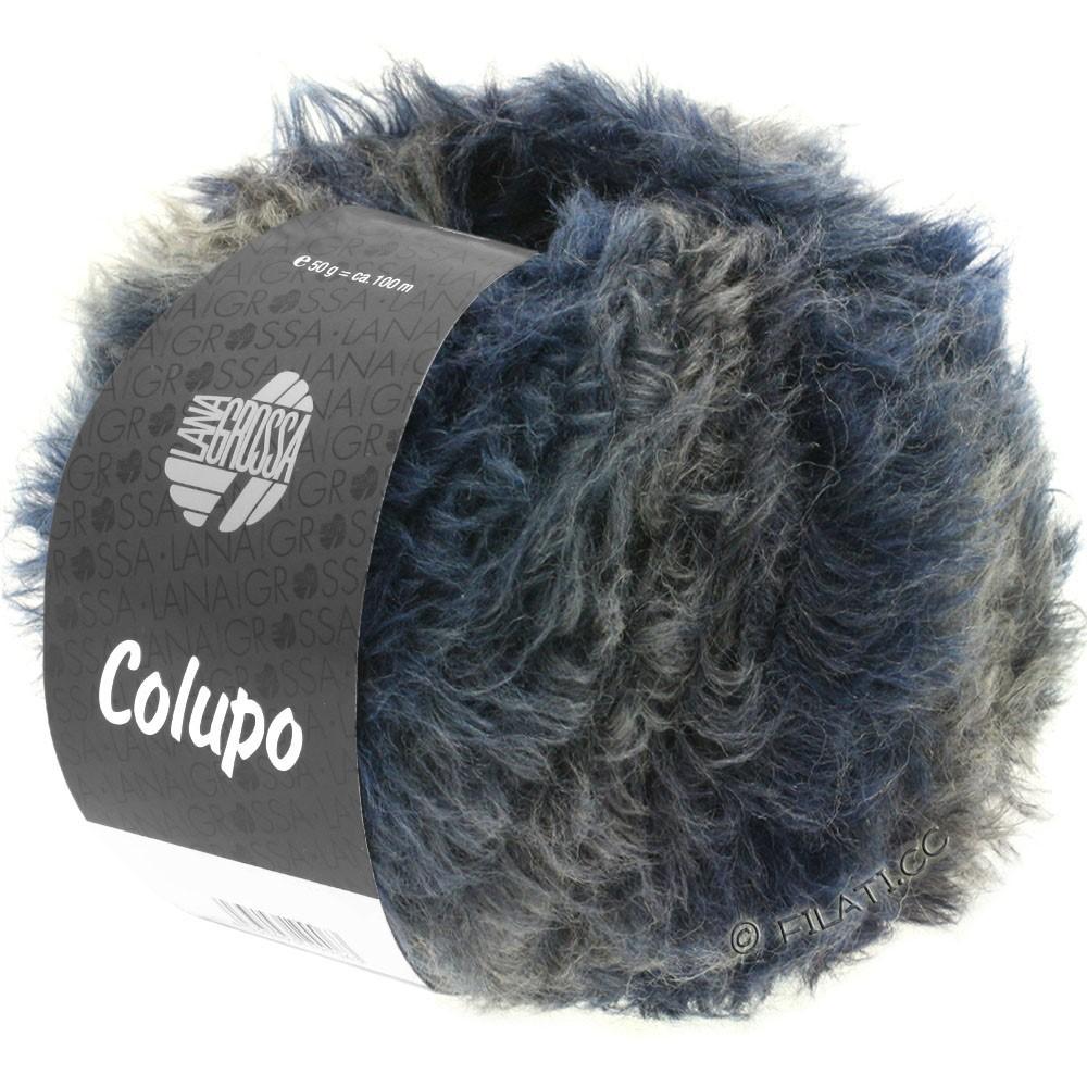 Lana Grossa COLUPO | 03-mørkeblå/sortblå