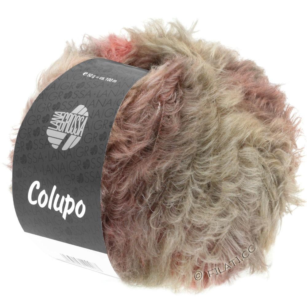 Lana Grossa COLUPO | 07-taupe/rosentræ