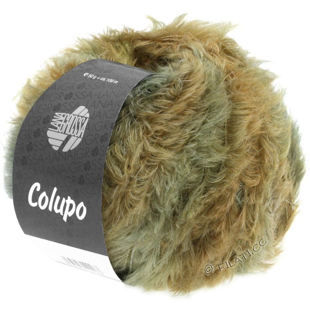Lana Grossa COLUPO | 08-nougat/grågrøn
