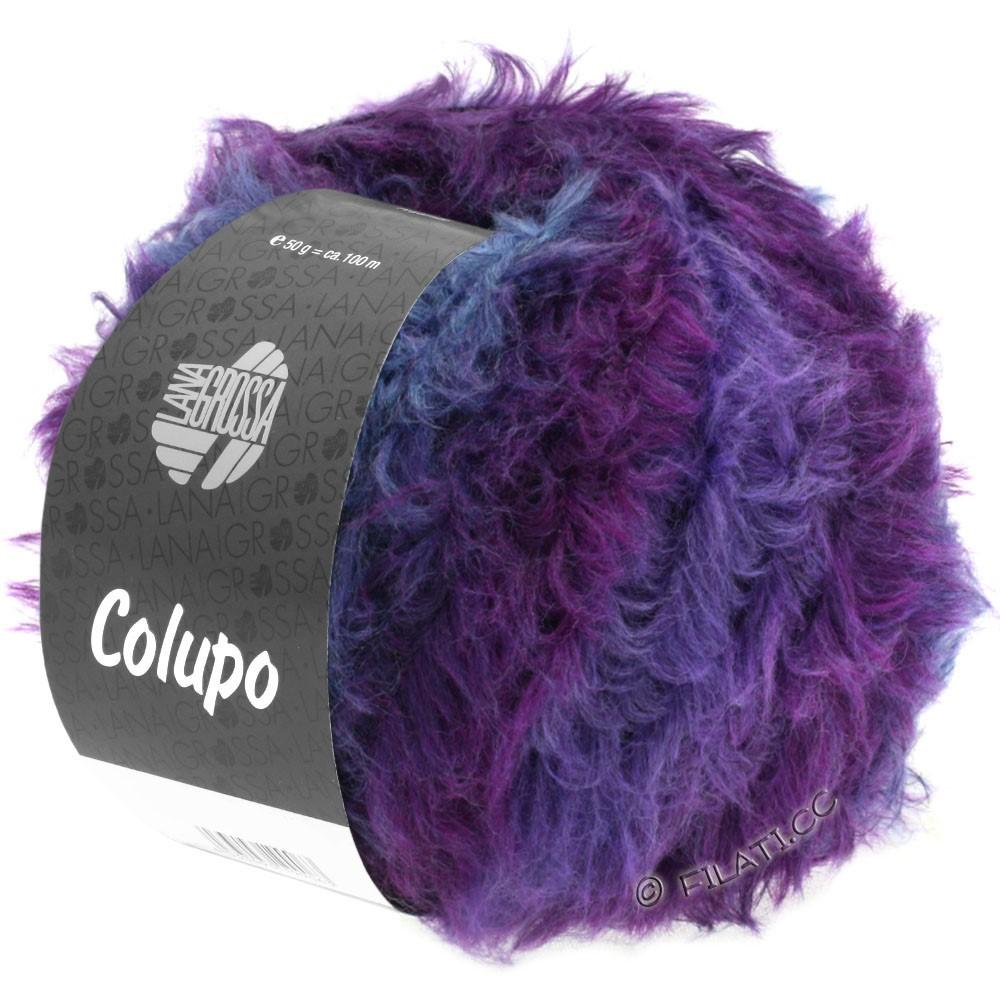 Lana Grossa COLUPO | 11-mørkegrå/violet