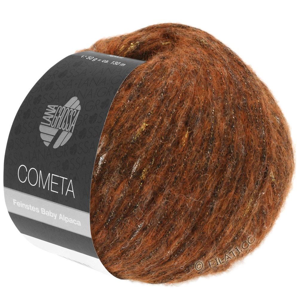 Lana Grossa COMETA | 004-kobber/gylden/sølv