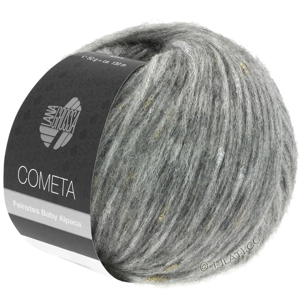 Lana Grossa COMETA | 009-lysegrå/gylden/sølv