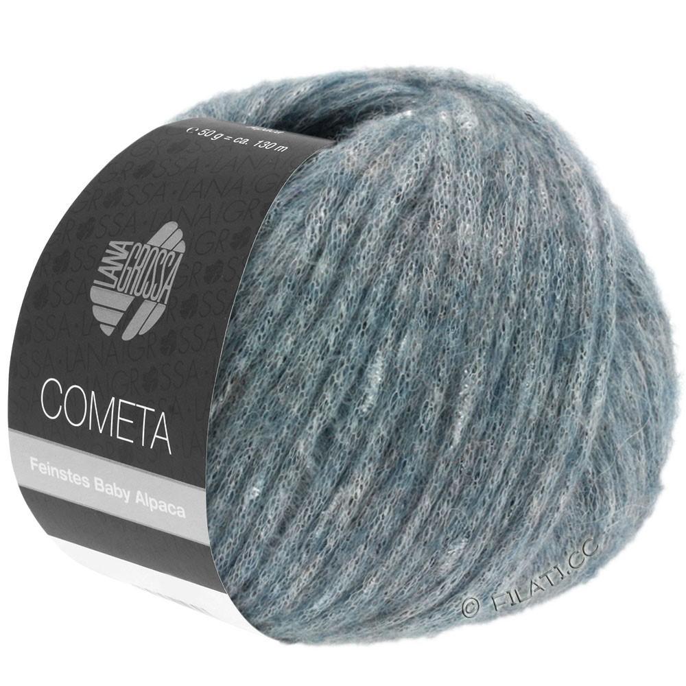 Lana Grossa COMETA | 010-gråblå/sølv