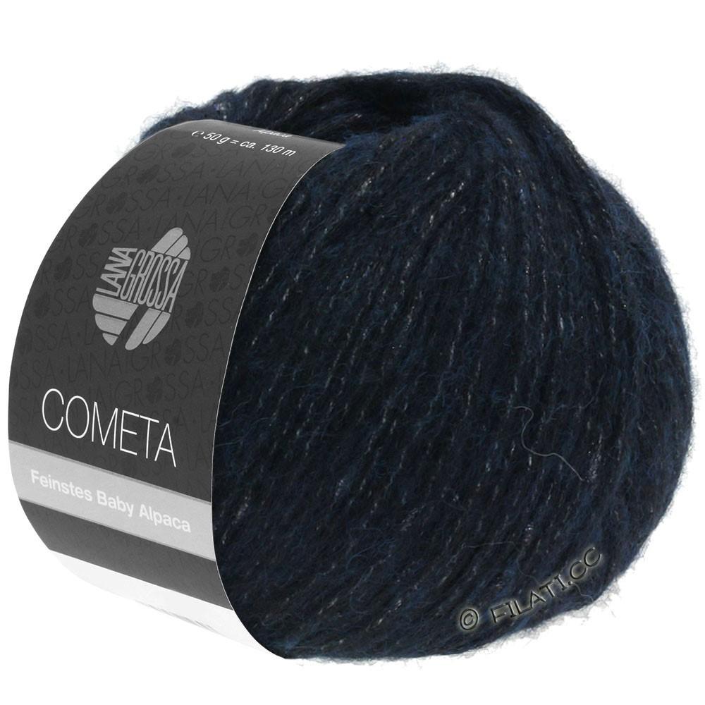 Lana Grossa COMETA | 011-natblå/sølv