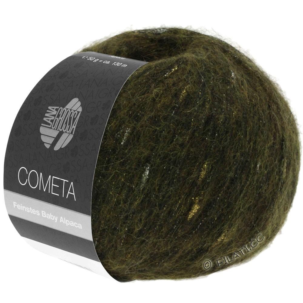 Lana Grossa COMETA | 013-kaki/gylden/sølv