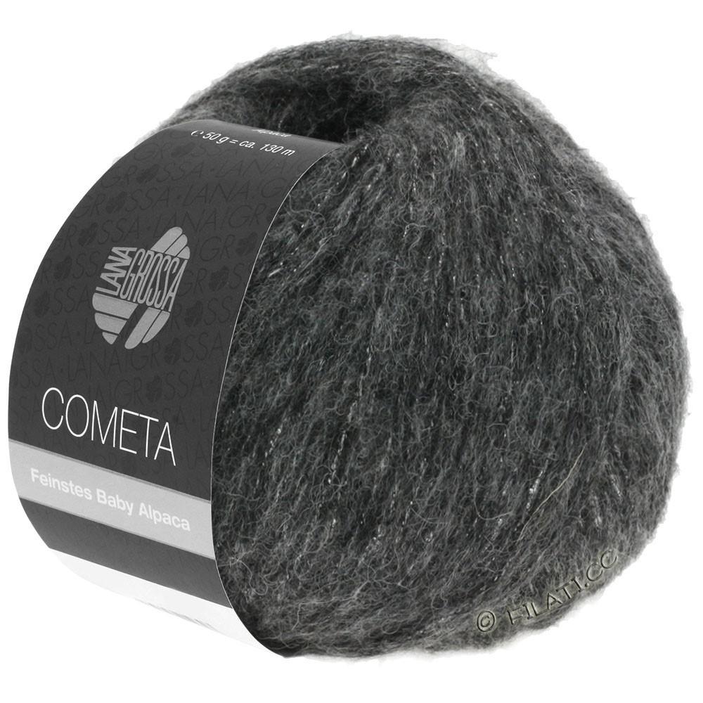 Lana Grossa COMETA | 014-mørkegrå/sølv
