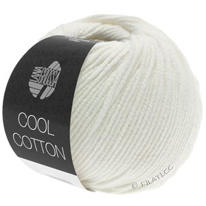 Lana Grossa COOL COTTON | 02-rå hvid