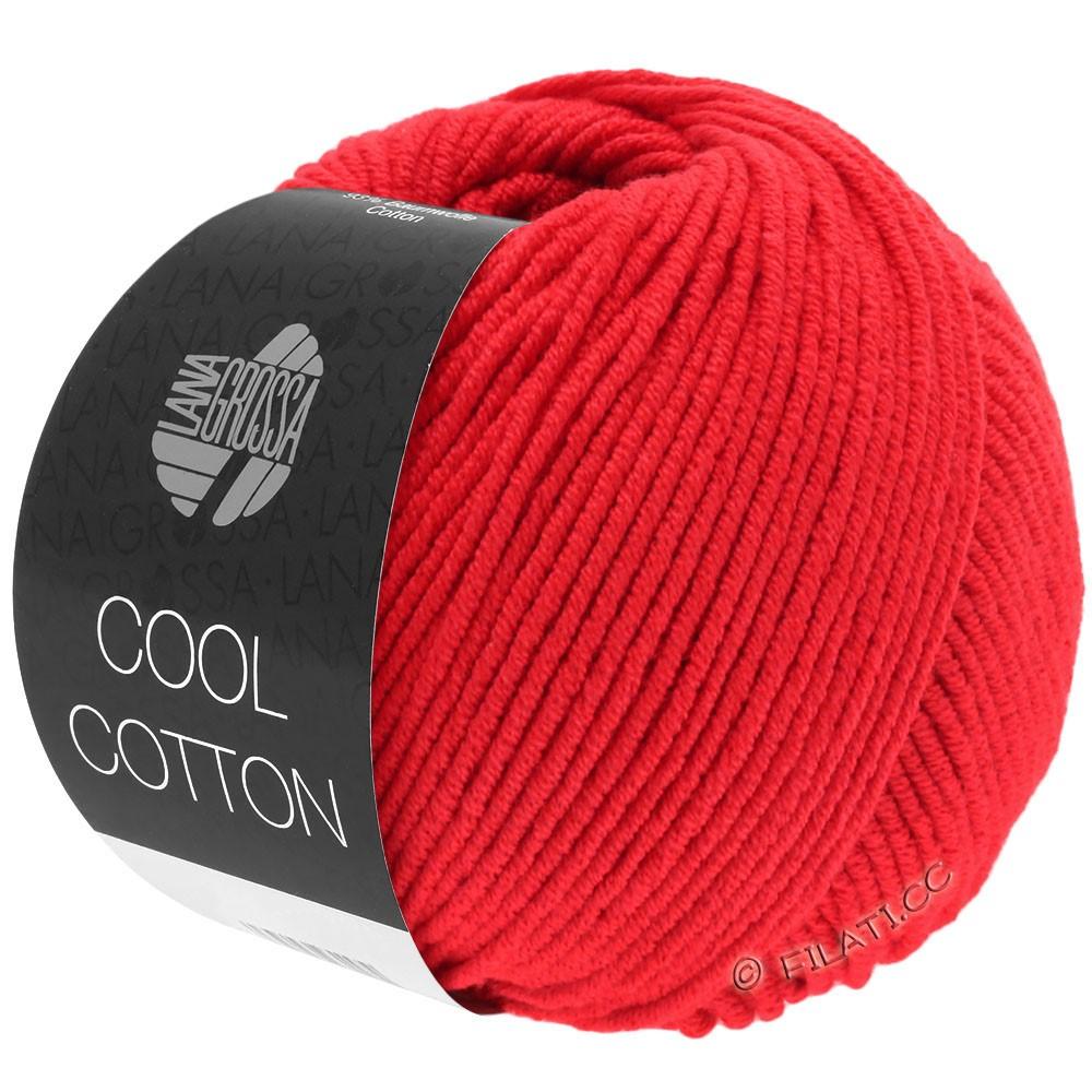 Lana Grossa COOL COTTON | 08-signalrød