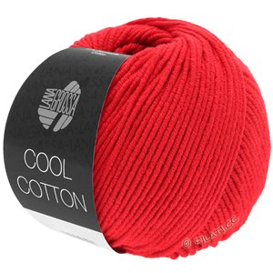 Lana Grossa COOL COTTON | 08-signalrød