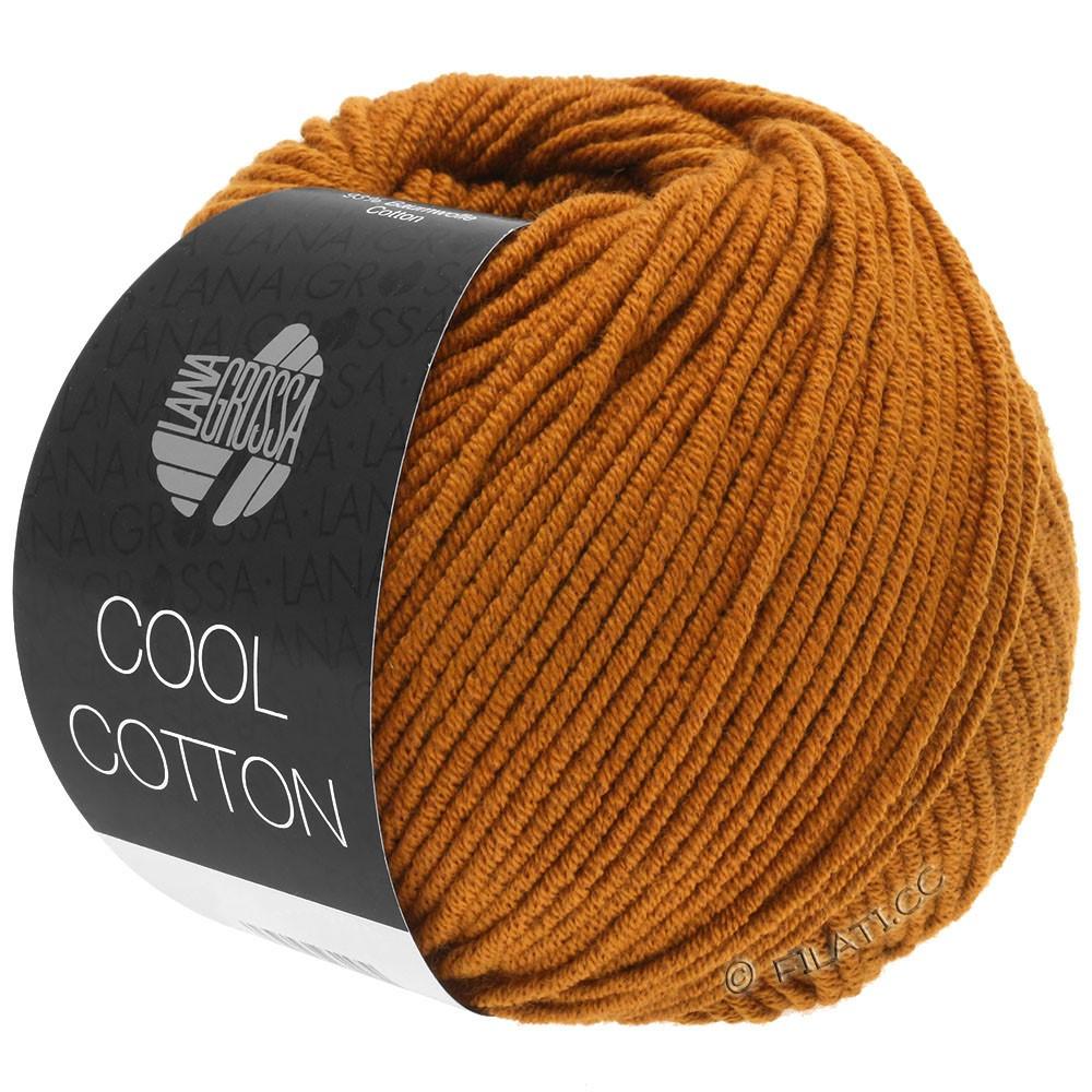 Lana Grossa COOL COTTON | 11-okkerbrun