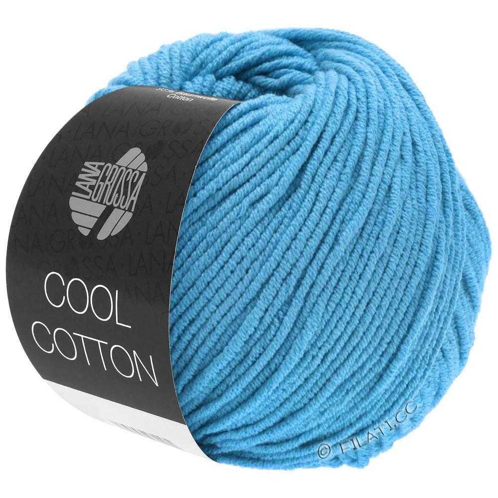 Lana Grossa COOL COTTON | 15-azurblå