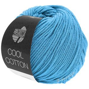 Lana Grossa COOL COTTON | 15-azurblå