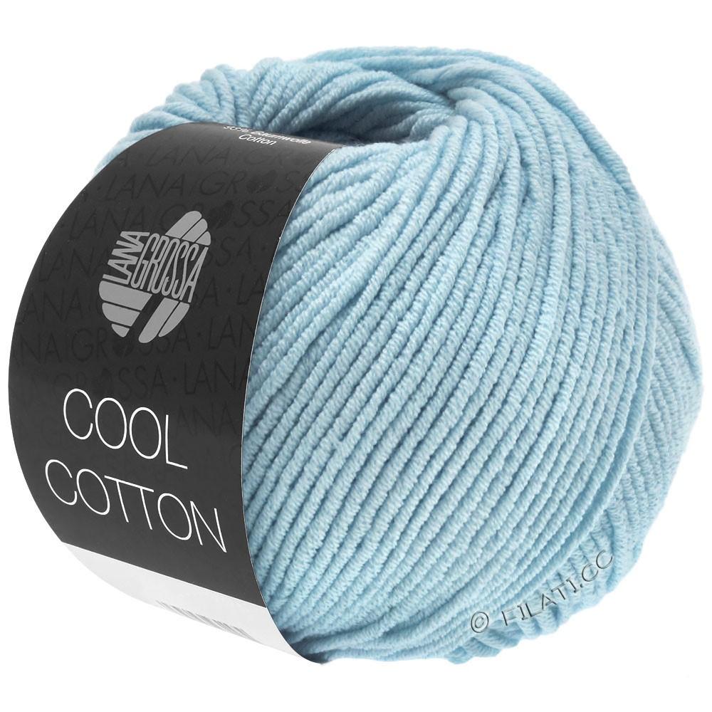 Lana Grossa COOL COTTON | 18-lyseblå