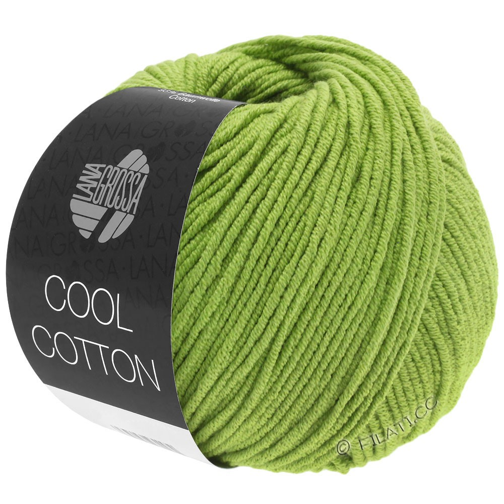 Lana Grossa COOL COTTON | 19-lysegrøn