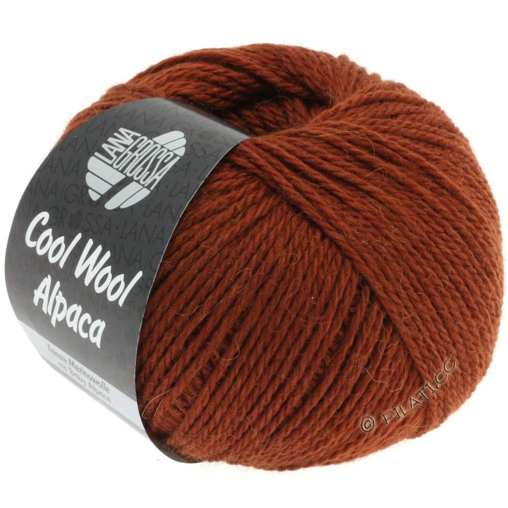 Lana Grossa COOL WOOL Alpaca | 02-brun