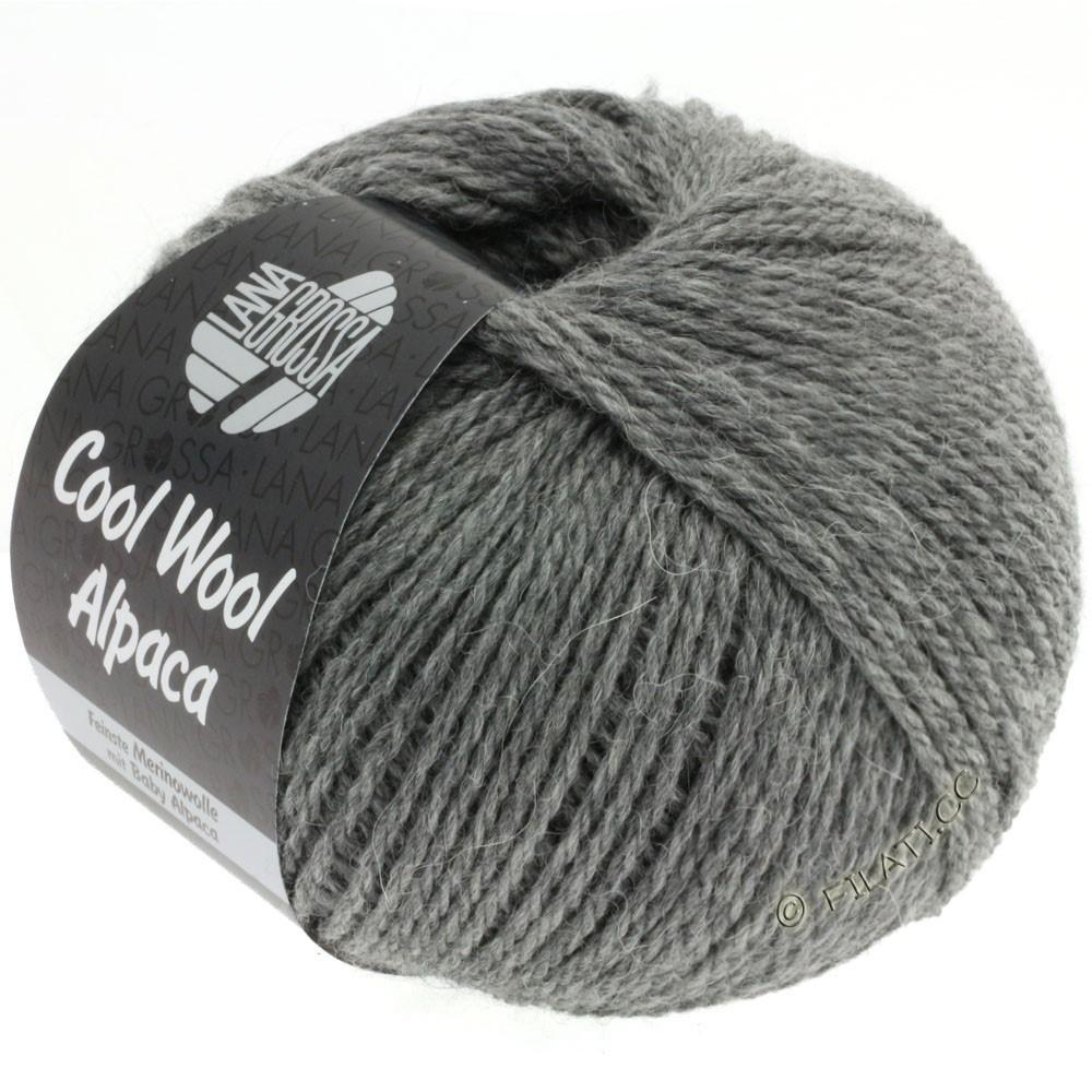 Lana Grossa COOL WOOL Alpaca | 06-mørkegrå
