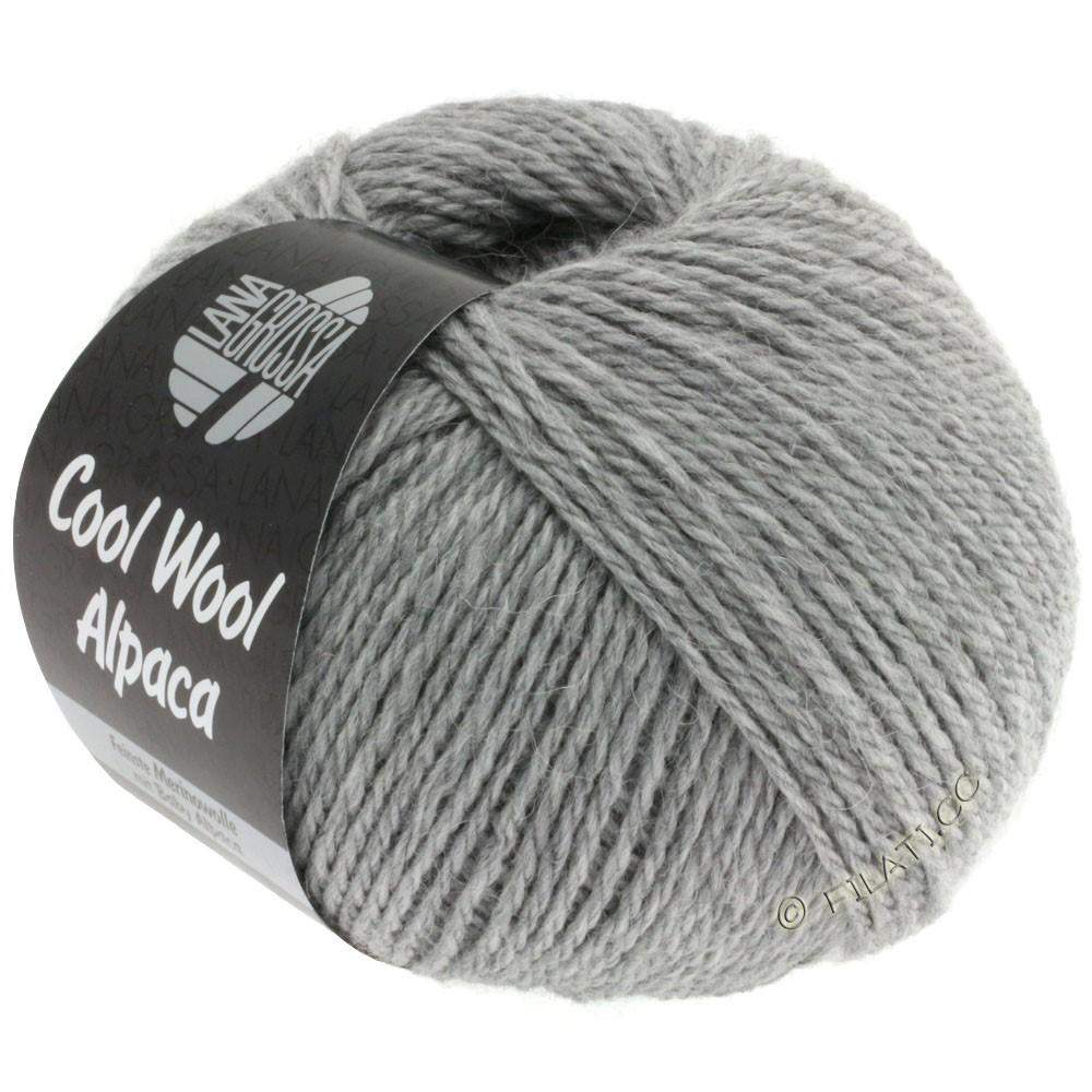 Lana Grossa COOL WOOL Alpaca | 07-lysegrå