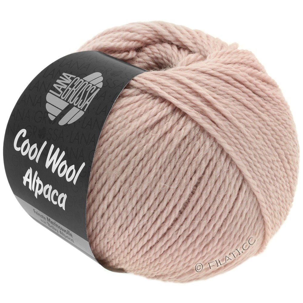 Lana Grossa COOL WOOL Alpaca | 26-pudder rosa