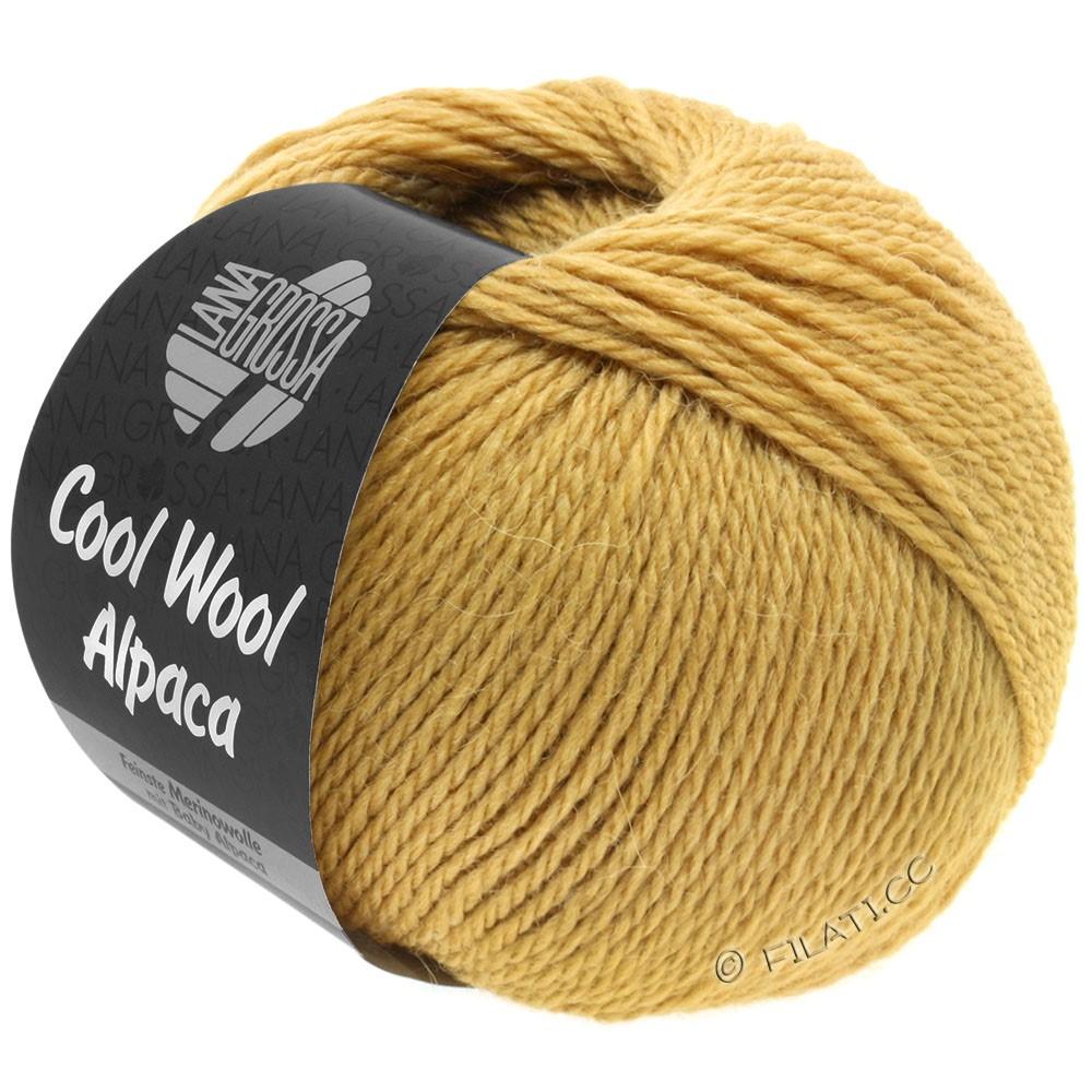 Lana Grossa COOL WOOL Alpaca | 28-lysebrun