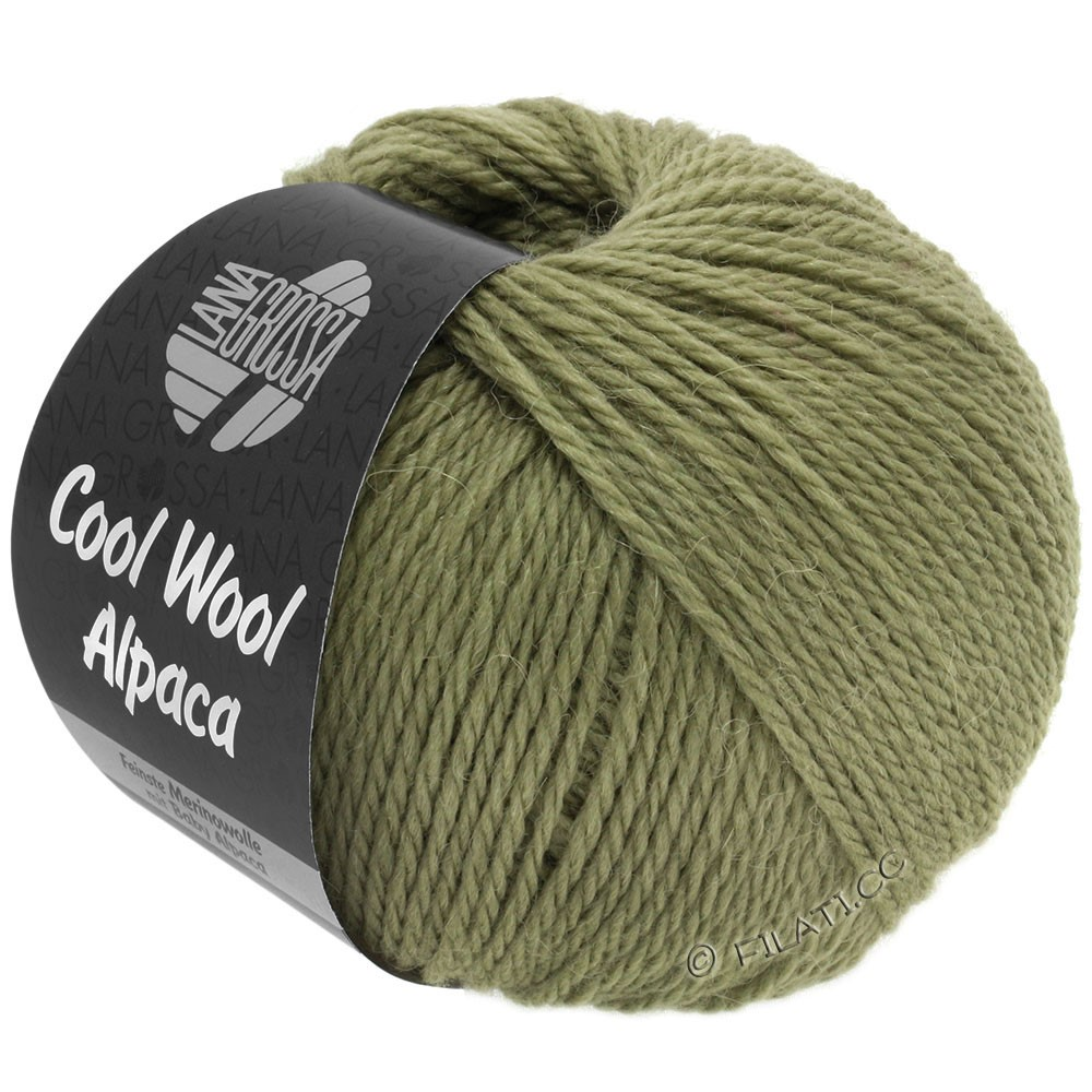Lana Grossa COOL WOOL Alpaca | 29-hø grøn