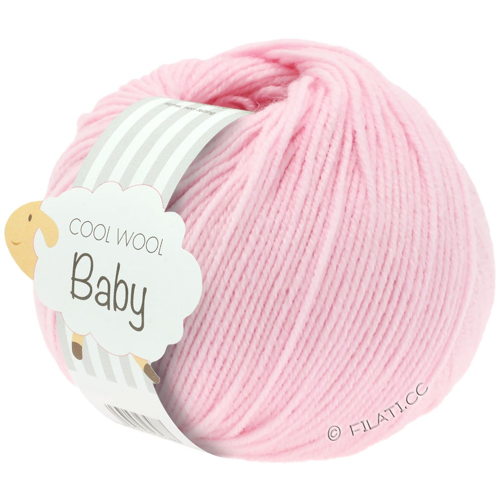 Lana Grossa COOL WOOL Baby 25g | 216-rosa