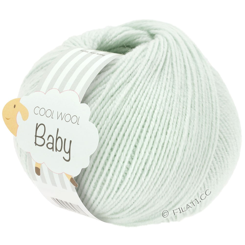 Lana Grossa COOL WOOL Baby 25g | 265-lysegrøn