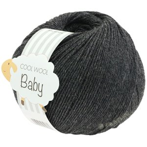 Lana Grossa COOL WOOL Baby 50g | 205-antracit