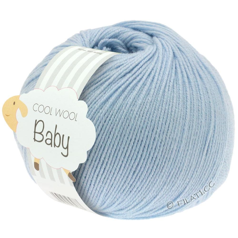 Lana Grossa COOL WOOL Baby | 208-lyseblå