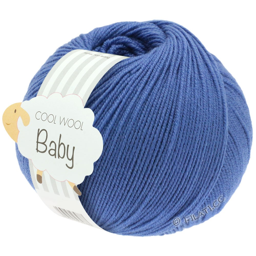 Lana Grossa COOL WOOL Baby Uni/Degradé | 209-blå