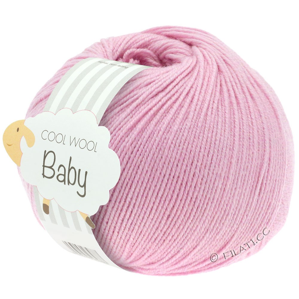 Lana Grossa COOL WOOL Baby Uni/Degradé | 216-rosa