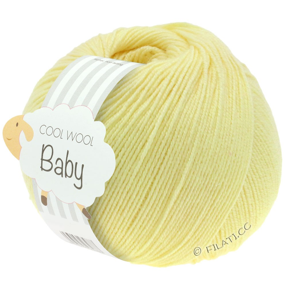 Lana Grossa COOL WOOL Baby | 218-vanilje