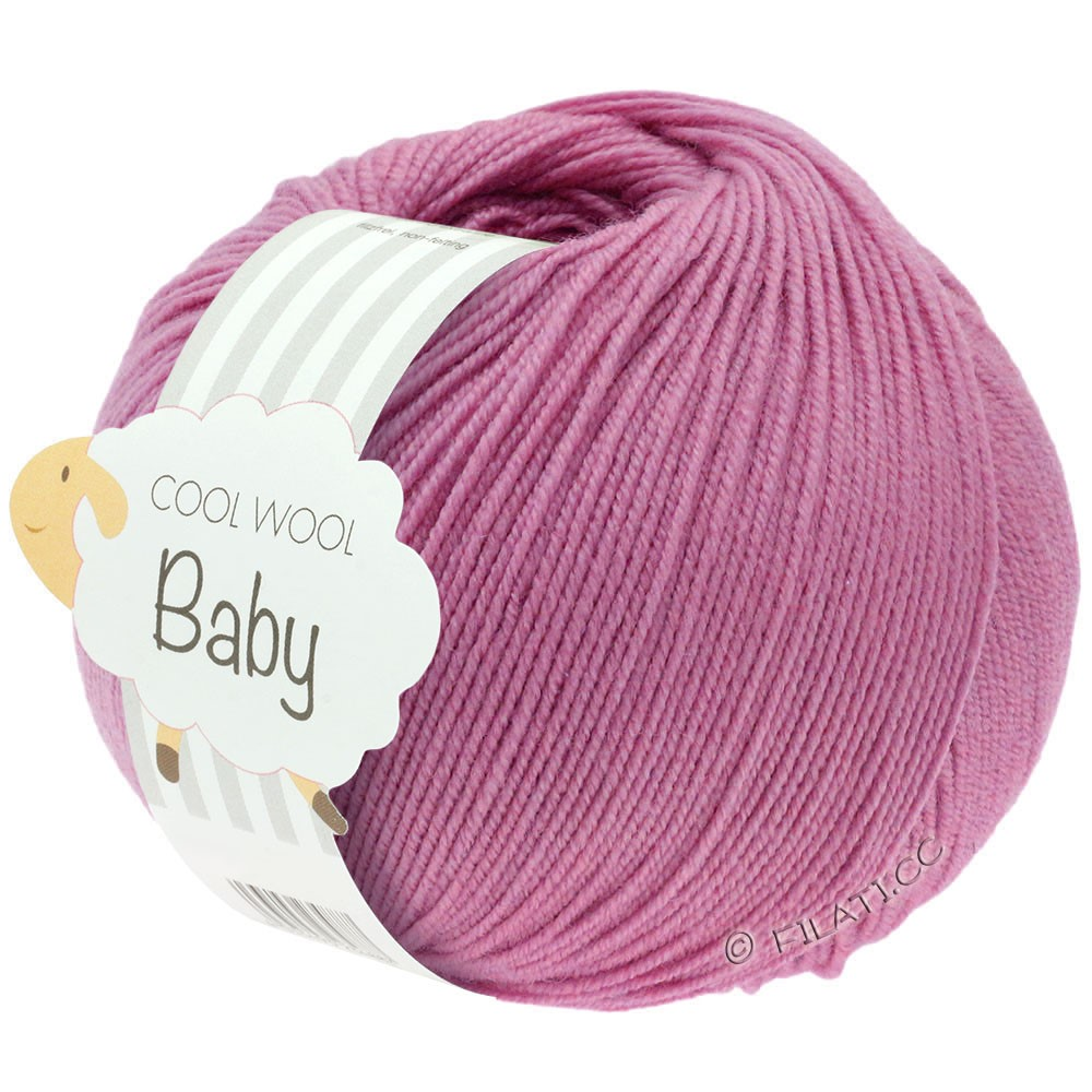 Lana Grossa COOL WOOL Baby Uni/Degradé | 242-lyng