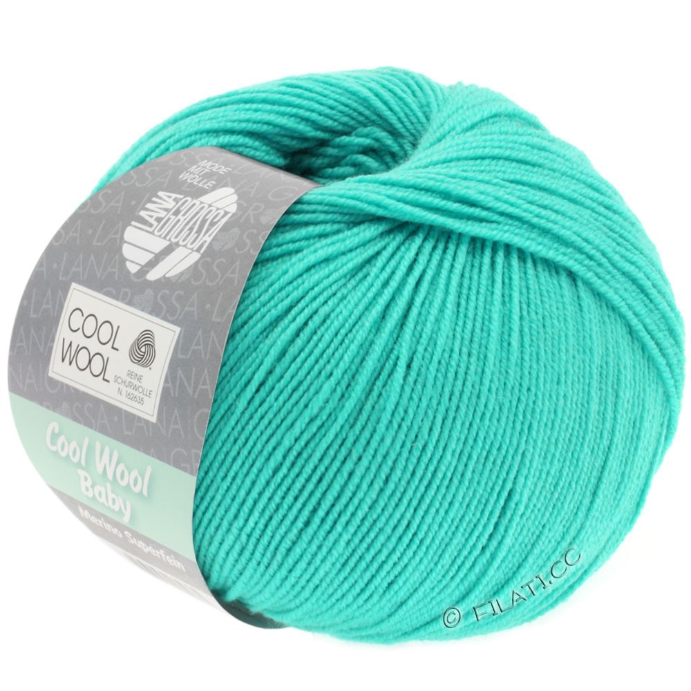 Lana Grossa COOL WOOL Baby Uni/Degradé | 251-turkis