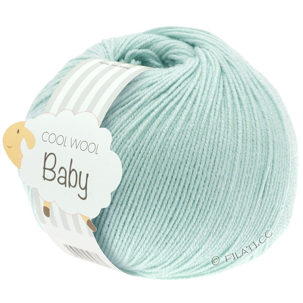 Lana Grossa COOL WOOL Baby Uni/Degradé | 257-sartgrøn