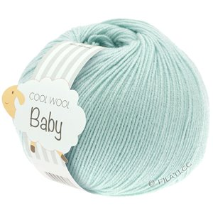 Lana Grossa COOL WOOL Baby 50g | 257-lys turkis