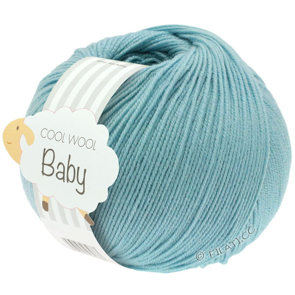 Lana Grossa COOL WOOL Baby Uni/Degradé | 261-mynte