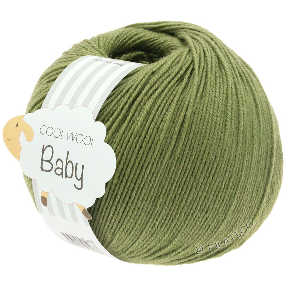 Lana Grossa COOL WOOL Baby | 266-hø grøn