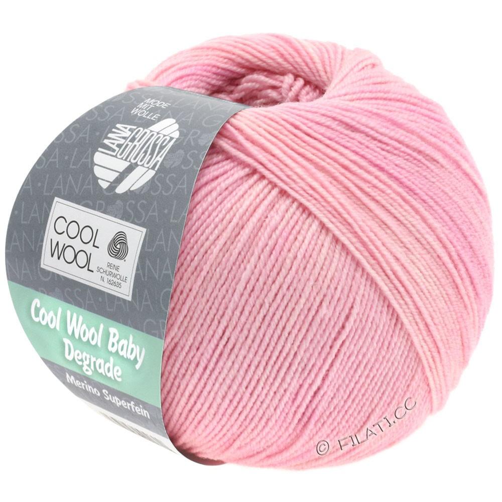 Lana Grossa COOL WOOL Baby Uni/Degradé | 501-sartrosa/rosa/lilla