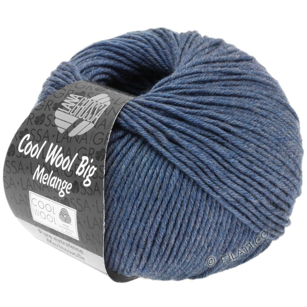 Lana Grossa COOL WOOL Big  Uni/Melange | 0328-jeans meleret